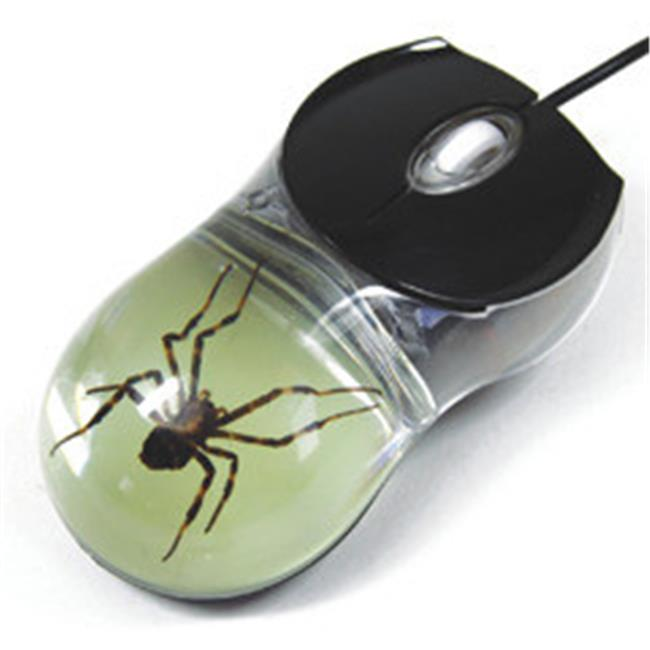 ED SPELDY EAST CM06 Computer Mouse  Glow in the Dark  Spider