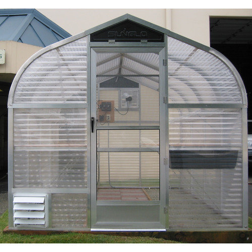 Sunglo Greenhouses 7.5 Ft. W x 10 Ft. D Acrylic and Aluminum Greenhouse