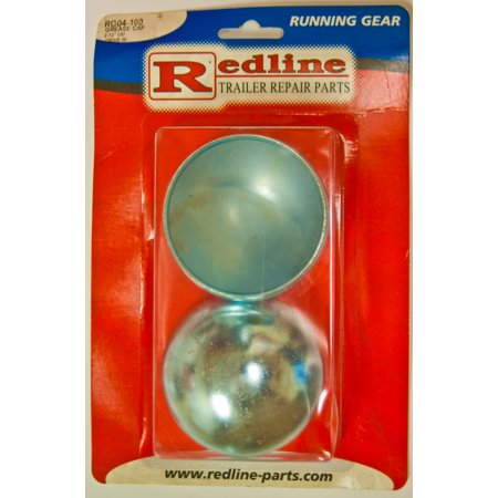 """One Pair of Trailer Grease Caps 2.72"""" OD Drive-In Style, RG04-100"""