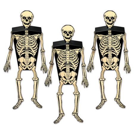 The Holiday Aisle Halloween Skeleton Favor Boxes