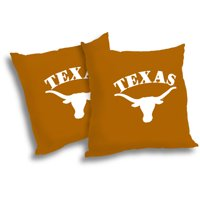 NCAA Texas Longhorns Pillow Set, 2pk