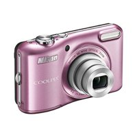 Nikon COOLPIX L28 20.1 MP Digital Camera with 5x Zoom Lens (VNA353E1) (Pink) International Version (No warranty)