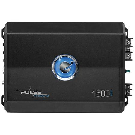 - Planet Audio PL1500.1M Pulse Series Monoblock Class AB Amp (1,500 Watts)