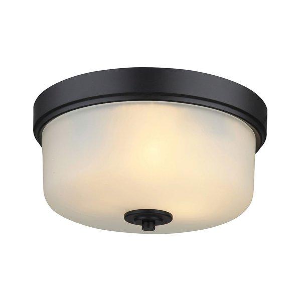 Product Of Hardware House Lexington Flushmount Ceiling Light Fixture Oil Rubbed Bronze Ceiling Fixtures Bulk Savings Walmart Com Walmart Com
