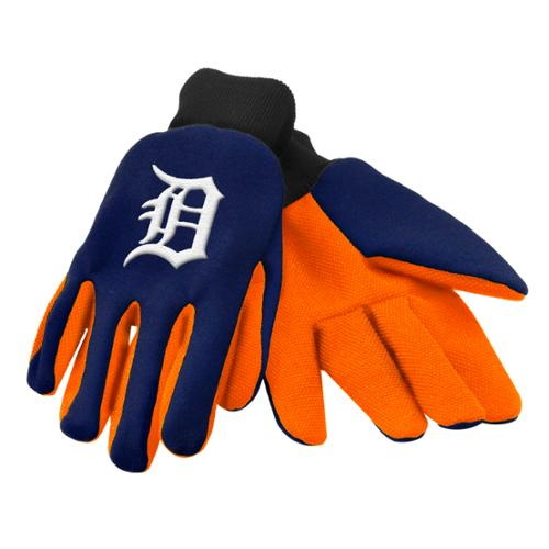 Detroit Tigers Official MLB One Size Sport Utility Work Gloves by Forever Collectibles