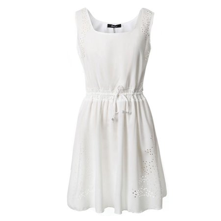 Sexy Dance Summer Dresses For Plus Size Women Chiffon Sleeveless
