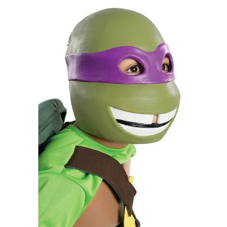 Donatello Child Vinyl Mask - Donatello Eye Mask