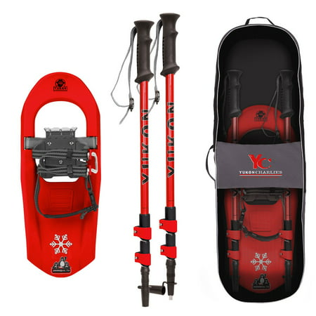 - SNOWSQUALL Youth Snowshoe KIT - Red
