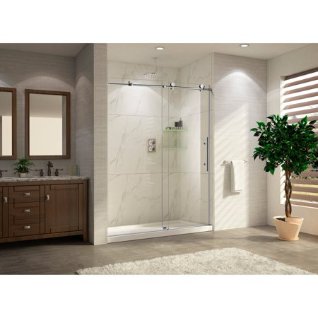 Wet republic trident lux 48w x 76h in clear glass shower door wet republic trident lux 48w x 76h in clear glass shower door planetlyrics Gallery