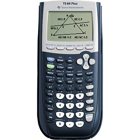 Texas Instruments TI-84 Plus Graphing Calculator, 10-Digit LCD (Ti Calculators 84)