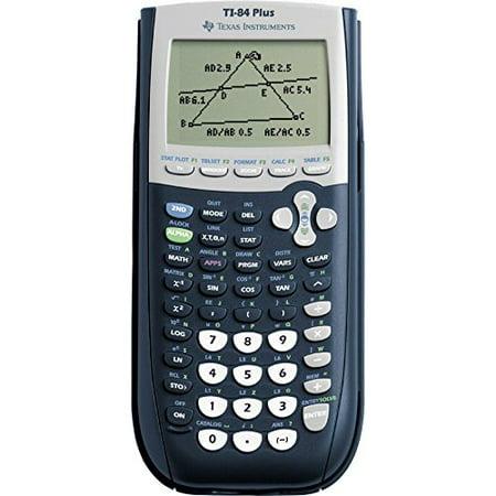 Texas Instruments TI-84 Plus Graphing Calculator, 10-Digit -