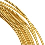 Brass German Bead Wire Craft Wire 24 Gauge/.5mm (12 Meters / 39.3 Feet)