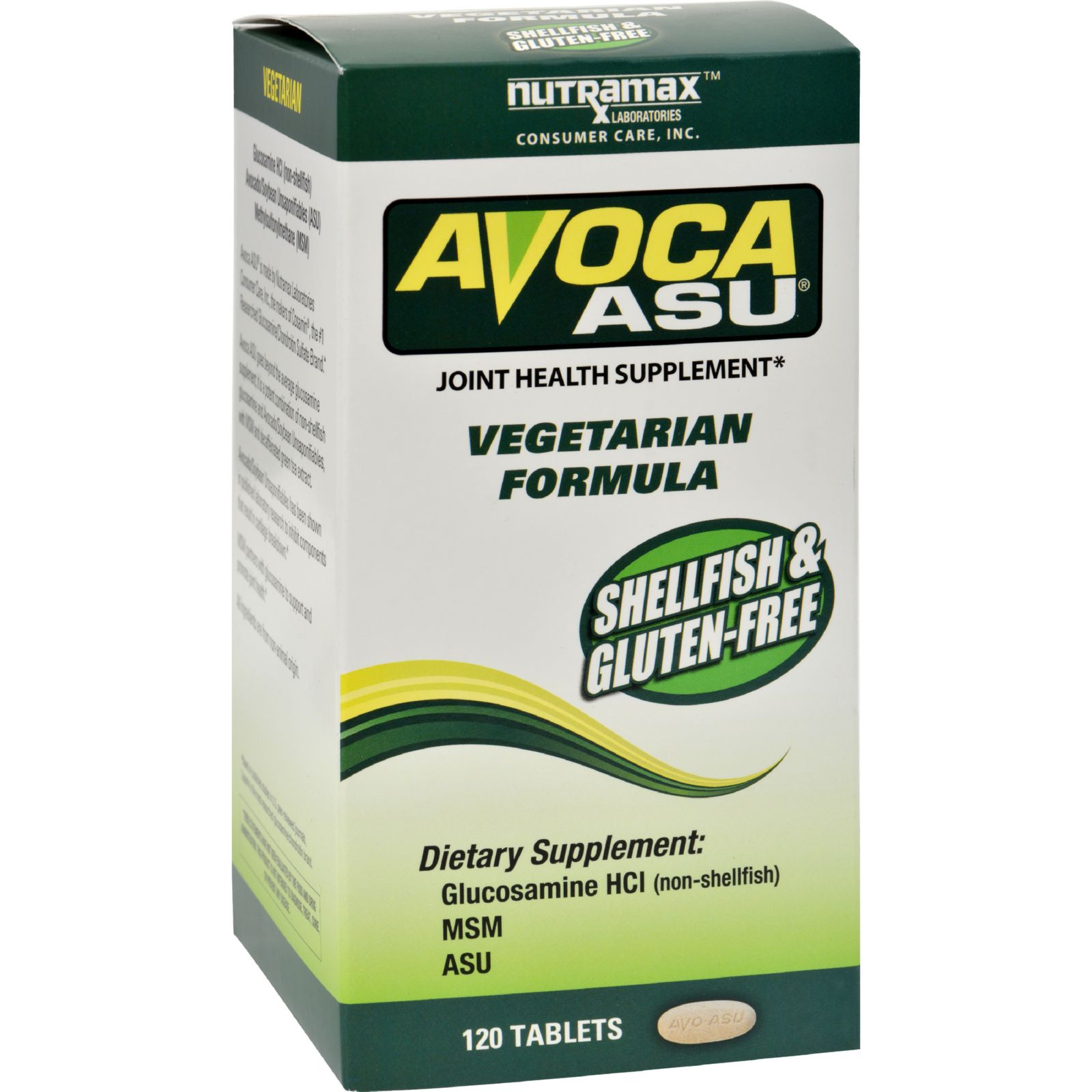 Nutramax Avoca ASU - 120 Tablets