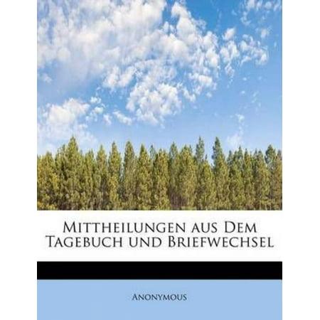 Mittheilungen Aus Dem Tagebuch Und Briefwechsel - image 1 of 1