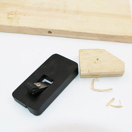Edge Trimmer Manual PVC Banding Trimming Aluminium Alloy Woodworking Tools - image 8 de 10