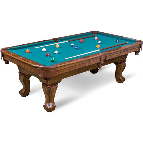 EastPoint Sports 7.25' Brighton Billiard Pool Table, Green Cloth