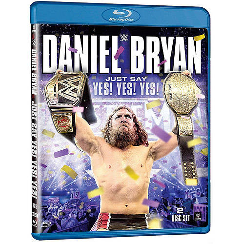 WWE: Daniel Bryan: Just Say Yes! Yes! Yes! (Blu-ray)