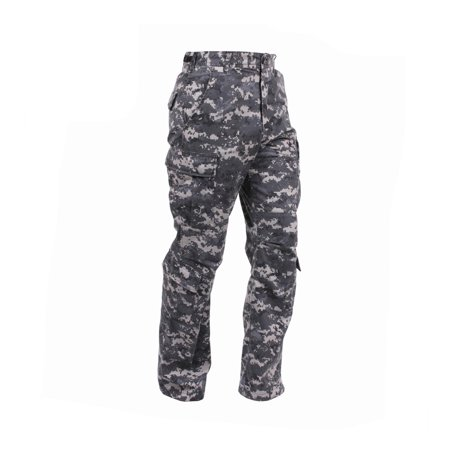 Rothco Vintage Camo Paratrooper Fatigue Pants, Subdued Urban Digital -