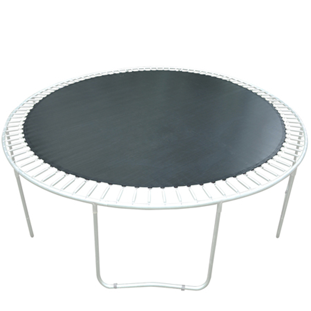 "12.04' (144.49"") Weatherproof Jumping Mat for 14ft-framed Round Trampoline Replacement with 96 V-rings 8.5"" Spring"