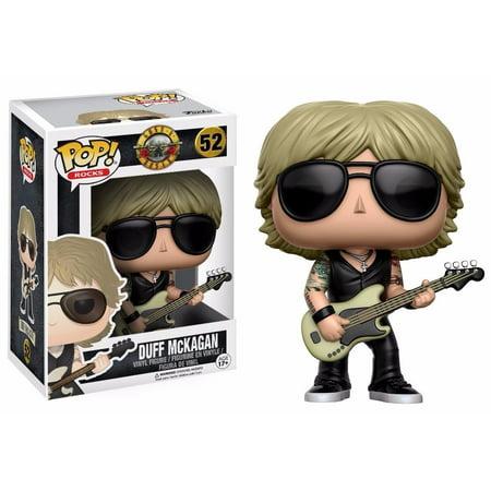 Funko Pop! Rocks Music Guns N Roses Duff Mckagan Vinyl Action Figure (Pop Halloween Music)