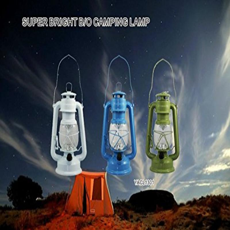YinArts Lighting YACL1301G Super Bright LED Camping Lantern with Rotary Dimmer Switch