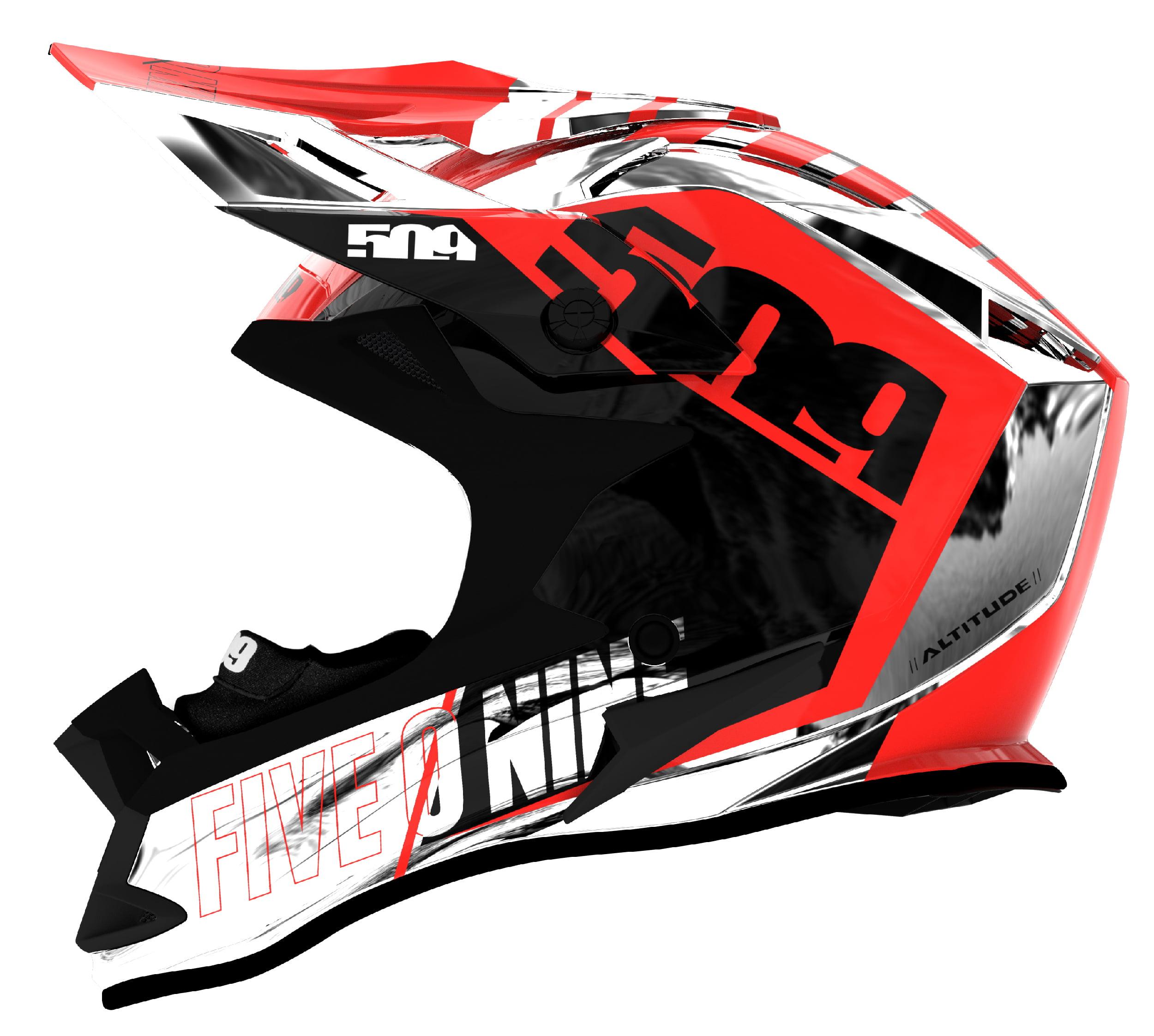 2XL Stamp 509 Altitude Snowmobiling Helmet