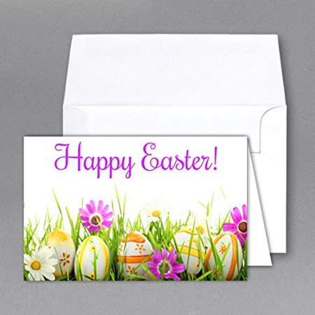 easter greeting cards envelopes size 4 12 x 6 pack of 25 size of the card when open 6 x 9 when folded 4 12 x 6 envelop size is a6 4 34 x 65 by - Greeting Card Envelope Size