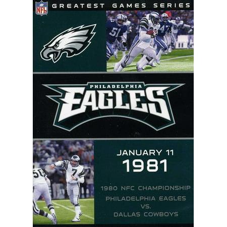 a6d79a84 NFL Greatest Games Series: Philadelphia Eagles 1980 NFC Championship Game  (DVD) - Walmart.com