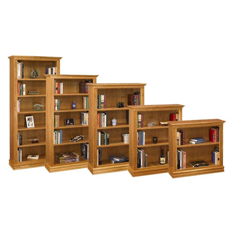 A & E Monticello Cherry Bookcase