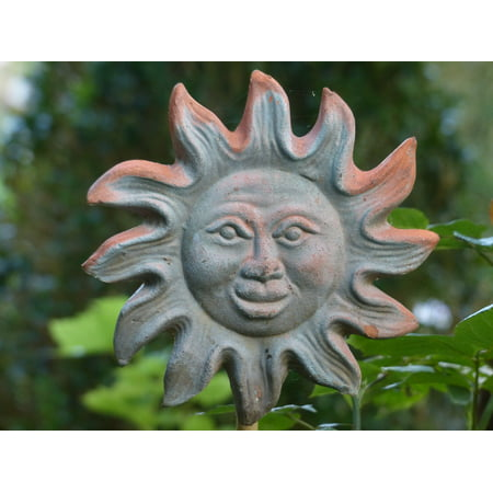 (LAMINATED POSTER Decoration Fig Sun Ceramic Deco Sound Garden Poster 24x16 Decal)