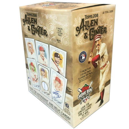 2018 Topps Allen & Ginter MLB Baseball Value Box Trading Cards Classic Toys Trading Cards