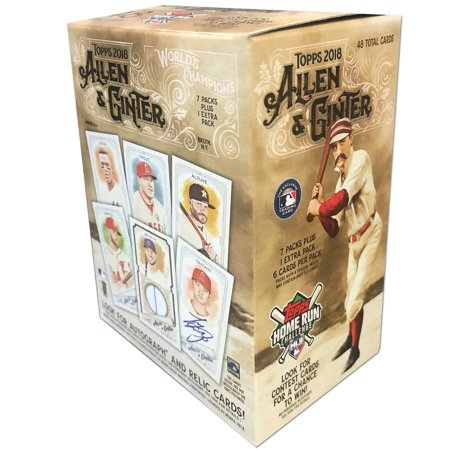 2018 Topps Allen & Ginter MLB Baseball Value Box Trading Cards