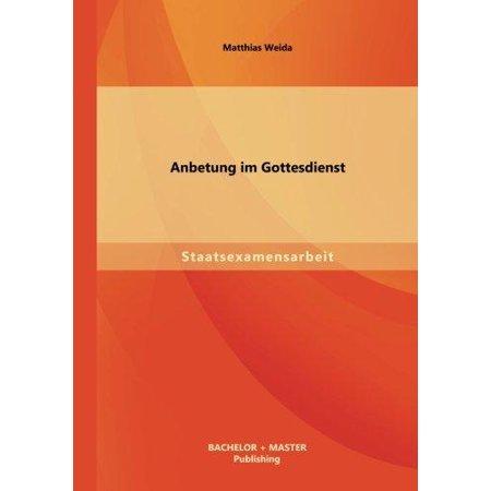 Anbetung Im Gottesdienst  German