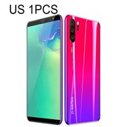 Newly Upgraded Version P33 Smartphone 5.72 Inch 3G Large Screen Mobile Phone High Capacity Phones Real Fingerprint Face Unlock Phones Gradient Red