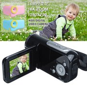 Full HD 16X Digital Zoom 2-inch LCD TFT Mini Digital Camera for Children Kids Cute Camcorders Video Child Cam Recorder Digital Camcorders(Batteries Not Included))