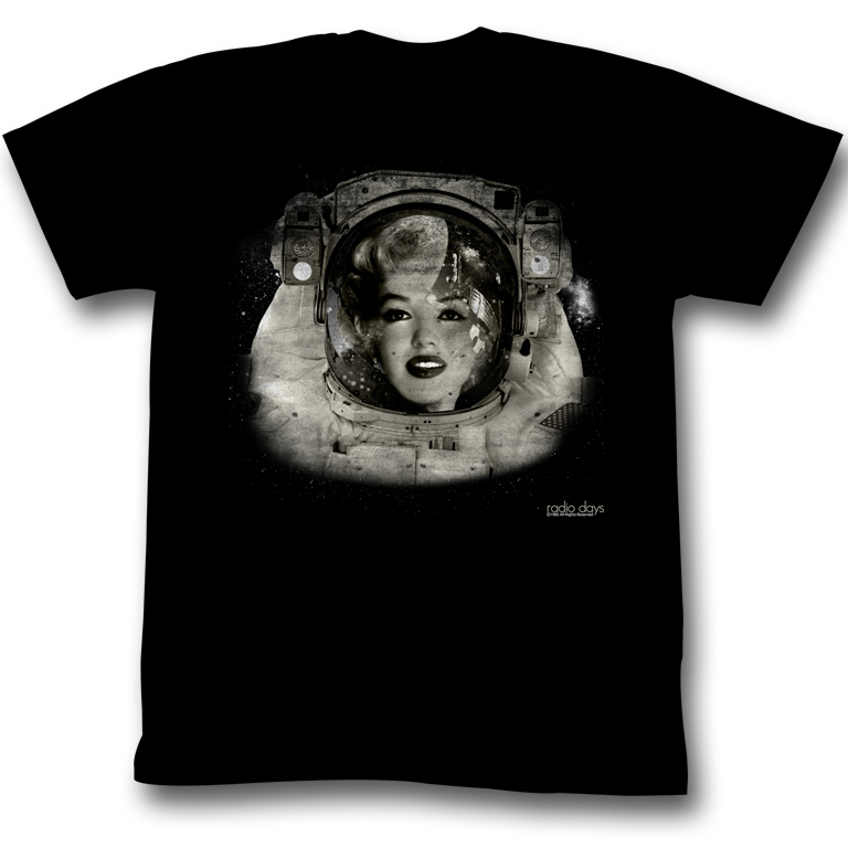 American Classics Marilyn Monroe Space Woman T Shirt