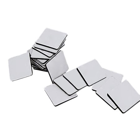 Double Stick Foam Tape (50pcs Double Sided Black Foam Tape Strong Square Car & Home Use)