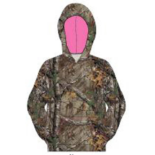 Realtree Girl's Camo Pullover Hood