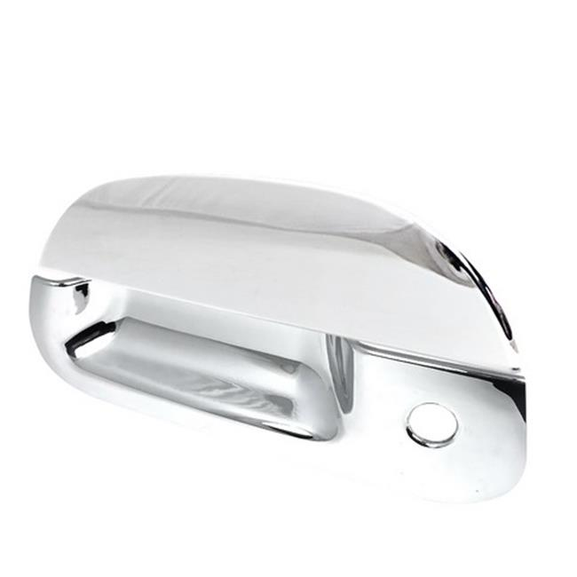 Spec-D Tuning DRH-F15097RBC F250 F350 Tail Gate Handle for 99 to 07 Ford Super Duty, 3 x 12 x 9 inch - Chrome
