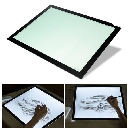 LED Tracing Copy Board Tracer Pad Light Box Tattoo Sketch Art Photo Craft A3 A4