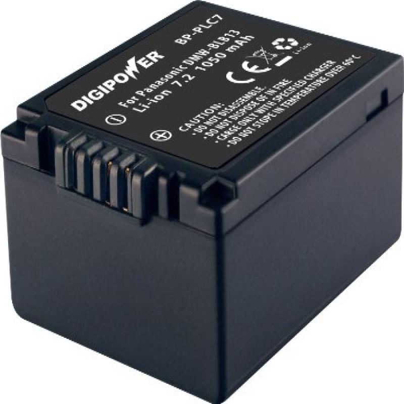 Digipower BP-BLB13 digital camera battery, Replacement for Panasonic DMW-BLB13 b