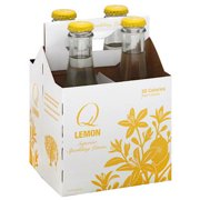 Soda Q 4pk Lemon, 32 Fo  (pack Of 6)