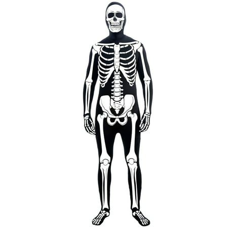 Mens Skeleton Man Suit Costume](Skeletons Costumes)