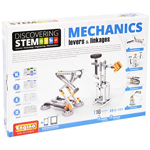 Engino STEM Mechanics, Levers and Linkages