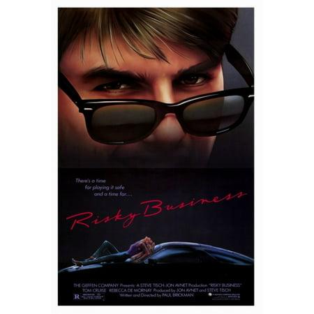 Risky Business Movie Poster Print (27 x 40) - Risky Business Halloween