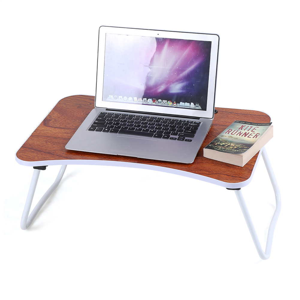 Multi-purpose Folding Laptop Bed Desk Portable Standing Table Breakfast Tray