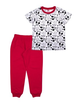 Mickey Mouse Toddler Boy T-shirts & Jogger Pants Outfit Sets, 2-Piece (2T-4T)