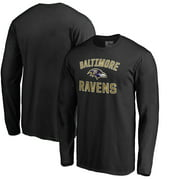 Baltimore Ravens NFL Pro Line by Fanatics Branded Victory Arch Long Sleeve T-Shirt - Black