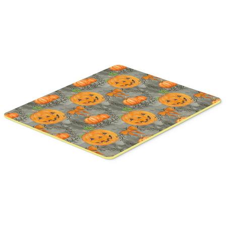 Watecolor Halloween Pumpkins Kitchen or Bath Mat 20x30 BB7521CMT - Bath Uni Halloween