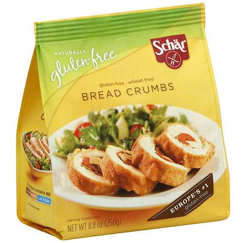 Schar Bread Crumbs, 8.8 oz (Pack of 12)